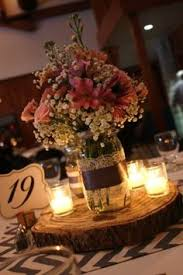 jar center pieces jar wedding centerpieces rustic b jar wedding