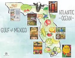 Map Florida Panhandle by Take A Food Tour Of Florida U2013 The Florida Bookshelf