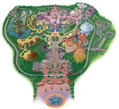 Disney World Park Maps by Theme Park Brochures Hong Kong Disneyland Theme Park Brochures