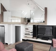Platform Stairs Design Steps To Saving Space 15 Compact Stair Designs For Lofts Urbanist