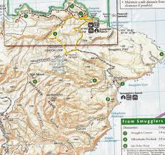 Channel Islands Map Mamma Quail Hiking California The Treasures Of Santa Cruz Island