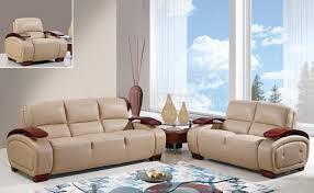 global furniture bonded leather sofa ua223 sofa in cappuccino bonded leather by global furniture usa