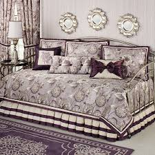 purple daybed bedding sets wooden global