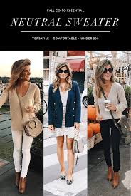 you need this sweater for fall 3 ways i ve worn it it s 49