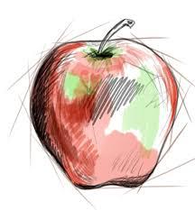 photoshop tutorial how to draw an apple artisul
