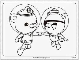 octonauts coloring pages getcoloringpages com