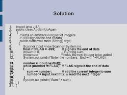 java programming from the ground up ppt download