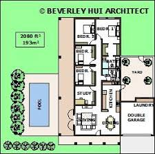 House Plans With Pools by U Shaped House Plans With Pool In The Middle Courtyard