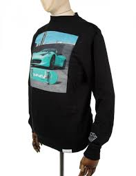 ferrari diamond diamond supply co ferrari crewneck sweatshirt black clothing