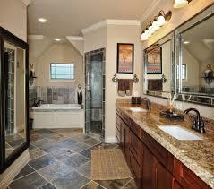 Slate Tile Bathroom Designs by Slate Shower Tile Bathroom Modern With Dark Floor Gray Walls