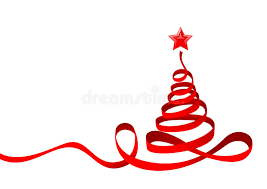 christmas tree ribbon ribbon christmas tree royalty free stock image image 17087786