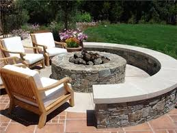 Firepit Area Outdoor Pit Plans Busca Dores