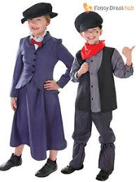 kids victorian mary nanny chimney sweep fancy dress costume book