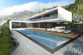 4 Bedroom Bungalow Architectural Design 4 Bedroom Modern Luxury Beachfront Villa Alocated In Altea Hills