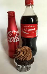 Six Flags Coca Cola Share A Chocolate Coke Cupcake Not Entirely Perfect
