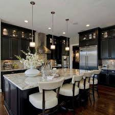 outstanding dark kitchen cabinets ideas creates elegant and