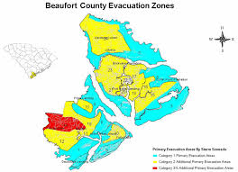 map of beaufort county sc state level maps