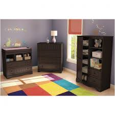 Changing Table In Espresso Bedroom Crib With Drawers And Changing Table Imposing South