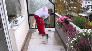 balkon abdichten meyer dichtstoffe schulungsvideo balkon abdichten