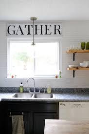 diy fixer upper inspired kitchen sign love u0026 renovations