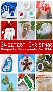 sweetest christmas keepsake ornaments for kids