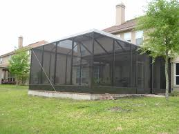 Outdoor Screen House by Outdoor Screen Enclosure Long Term Outdoor Screen Enclosure