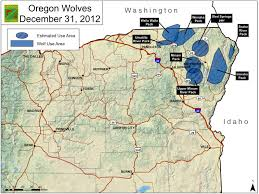 Map Of Bend Oregon by File Oregon Wolf Population Map Jpg Wikimedia Commons