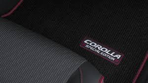 2016 toyota corolla special edition upgrades