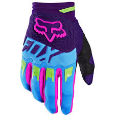 motocross boots fox fox racing 2016 dirtpaw vicious se gloves blue fox racing