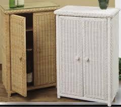 White Wicker Bathroom Storage Alluring Wicker Bathroom Storage Of Cabinets Best References