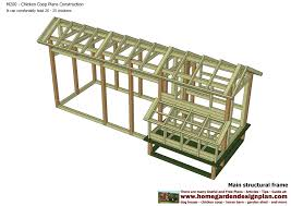 chicken house construction plans with build an easy chicken coop