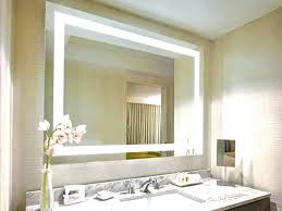 Lighted Bathroom Wall Mirrors Lighted Wall Mirror White Lighted Wall Mirror Lighted Bathroom