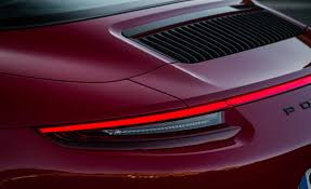 2017 porsche 911 targa 4 gts red exterior view taillight gallery