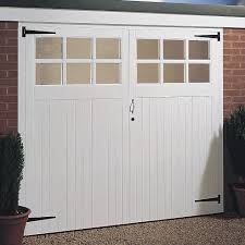 wooden garage door double