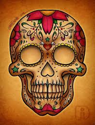 dia de los muertos sugar skulls dia de los muertos mexican sugar skull image 787407 by