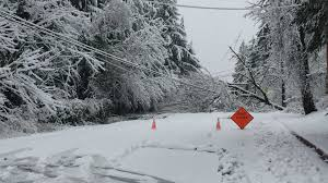 Seattle Traffic Flow Map by Winter Storm Strikes Puget Sound Closes Schools Across Region