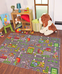 children u0027s rugs town road map city rug play village mat for kids