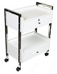 Lockable Medical Cabinets Amazon Com Supreme Medical Dental Mobile Utility Cabinet U0026 Cart