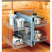 Blind Corner Storage Systems Corner Organizers Shop For Blind Corner Kitchen Cabinet