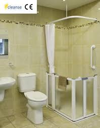 Half Shower Doors Cleanse Half Height Shower Doors Disabled Products Mobility