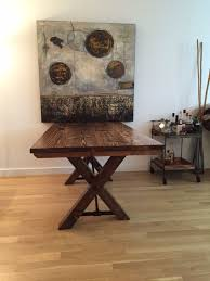 trestle base dining table solid wood farmhouse table with trestle base trestle table kitchen