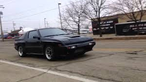 mitsubishi conquest interior 1988 chrysler conquest tsi youtube