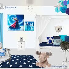 chambre reine des neiges décoration reine des neiges