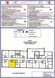 plan chambre d hotel plan d evacuation pour chambre d hotel