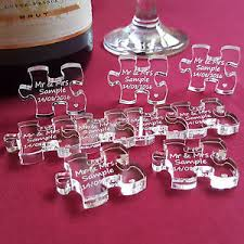 mr mrs wedding table decorations personalised jigsaw wedding table decorations mr mrs acrylic