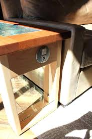 end table with outlet end tables with electrical outlets end table built power charging