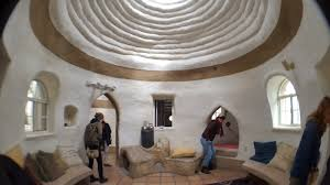 dome home interiors scott u0027s superadobe build across time cal earth open house