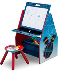 mickey mouse table l great deals on delta children activity center with easel desk stool
