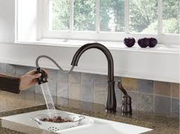 delta kitchen faucets pull down delta trinsic single handle