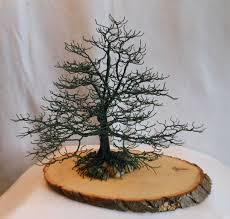 Home Decor Sculptures Wire Oak Tree With Nest Home Decor Accent Us Artist Sculpture